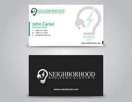 #20 cho Design some Business Cards for Neighborhood Wholesale Electric bởi benson92