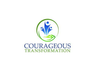 #12 for Courageous Transformation Logo af jarifaly123