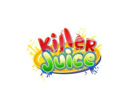 #39 para Design a Logo for Killer Juice por Manjuna
