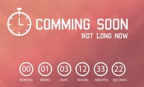 Bài tham dự #13 về Graphic Design cho cuộc thi Design a Coming Soon page for selling in Themeforest