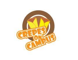 #23 untuk Design a Logo for Crêpes on Campus oleh dreamer509