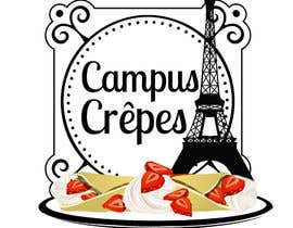 #27 untuk Design a Logo for Crêpes on Campus oleh shananigans1