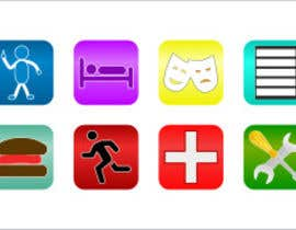#2 cho Design a handful of eye popping, colorful and fun icons for an app bởi r00tt