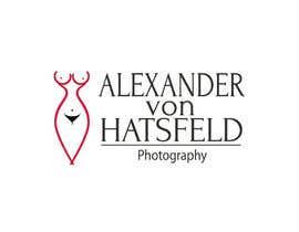 Nro 22 kilpailuun Design a logo for Alexander von Hatzfeld - Erotic Photographer käyttäjältä andrewdigger