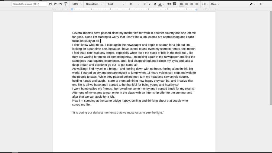 Bài tham dự cuộc thi #17 cho Write a SHORT story