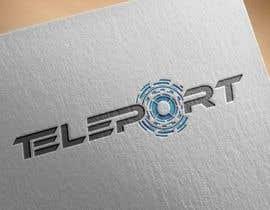 """#343 for logo contest """"TELEPORT"""" by AWAIS0"""