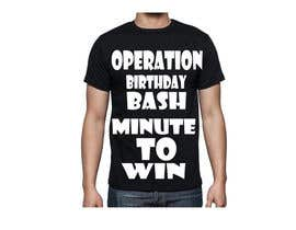 #16 for Design a T-Shirt for kids birthday party by krishga54