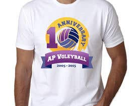 #22 untuk Design a T-Shirt for volleyball tournament oleh maximkotut