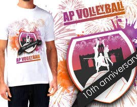#17 for Design a T-Shirt for volleyball tournament af Trehankrismal