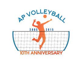 #34 for Design a T-Shirt for volleyball tournament af alexgoodie