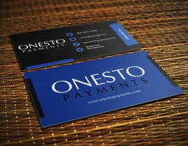 #33 for Design business card for Onesto Payments af mahiweb123