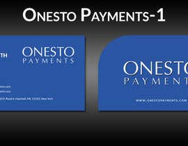 #4 untuk Design business card for Onesto Payments oleh ghani1
