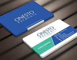 #31 untuk Design business card for Onesto Payments oleh Derard