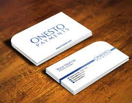 #42 for Design business card for Onesto Payments af IllusionG