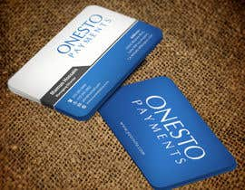 #15 untuk Design business card for Onesto Payments oleh mamun313