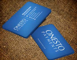#18 untuk Design business card for Onesto Payments oleh mamun313