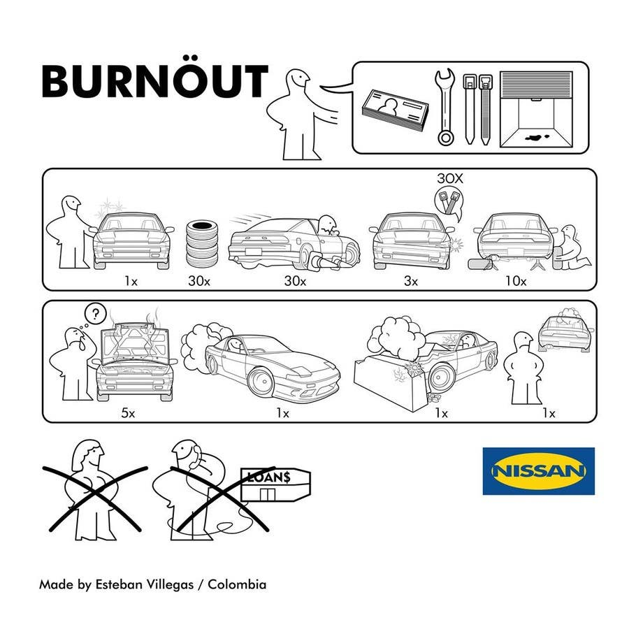 Konkurrenceindlæg #5 for Shirt design parody of Ikea instruction man