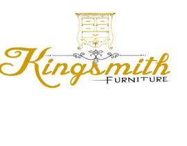 #51 for Design a Logo for Kingsmith Repurposed Furniture af arunteotiakumar