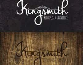 Nro 4 kilpailuun Design a Logo for Kingsmith Repurposed Furniture käyttäjältä ngonzalz