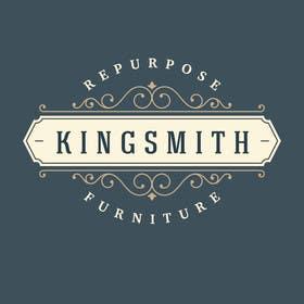 Nro 39 kilpailuun Design a Logo for Kingsmith Repurposed Furniture käyttäjältä onkarpurba