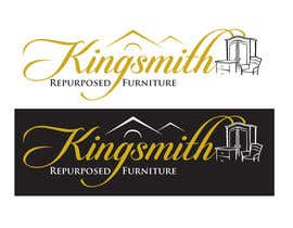 #23 for Design a Logo for Kingsmith Repurposed Furniture af bymaskara