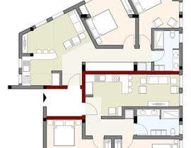 #43 para Two apartments design por aysenurcabuk