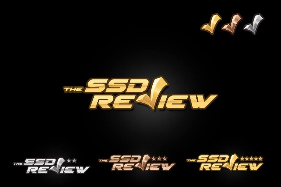 Contest Entry #                                        212                                      for                                         Logo Design for The SSD Review