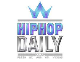 #2 para Design a Logo for Hip Hop Daily por reynoldsalceda