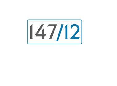 #6 for DESIGN LOGO FOR 147/12 af darkavdarka
