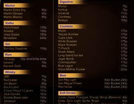 #15 cho Design a drink menu for a bar bởi sumantechnosys