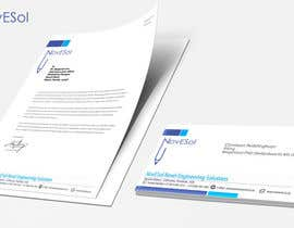 #4 untuk Design a letterhead and business cards for a engineering company oleh binoysnk