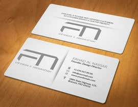 #22 for Design some Business Cards for an interior design firm af akhi1sl