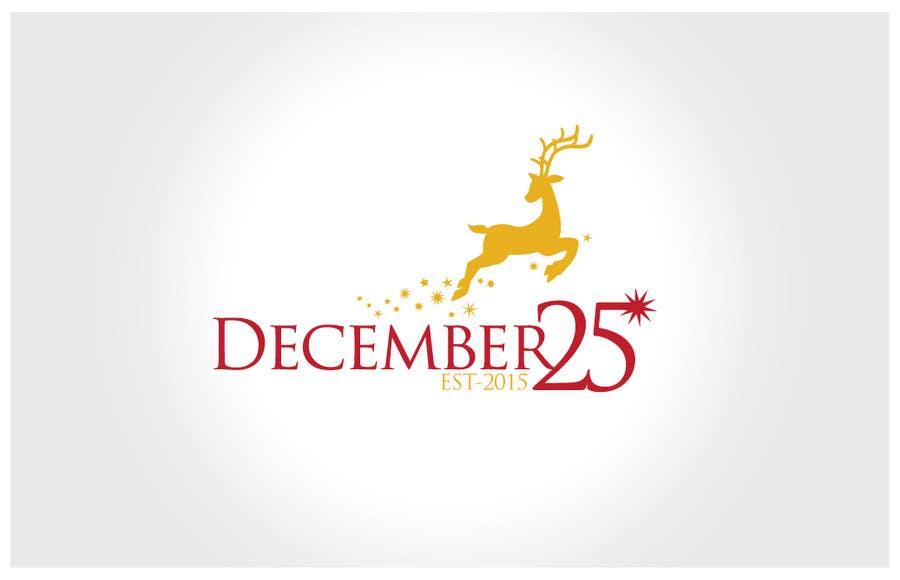 Penyertaan Peraduan #20 untuk Design a Logo for December 25