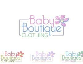#84 for Design a Logo for baby boutique clothes website af Attebasile