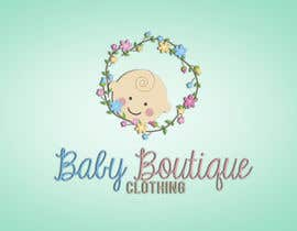 #88 for Design a Logo for baby boutique clothes website af shantallrueda
