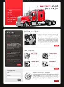#17 for Transportation Website Design af Nihadricci