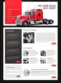 Nro 17 kilpailuun Transportation Website Design käyttäjältä Nihadricci