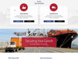 #7 for Transportation Website Design af MadniInfoway01