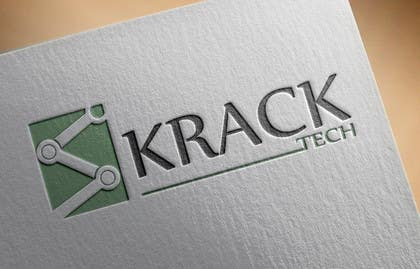Nro 25 kilpailuun Design a Logo for KrackTech käyttäjältä akoroskoski
