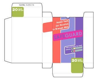 Nro 14 kilpailuun Create Print and Packaging Designs for breastmilk alcohol test käyttäjältä muzden