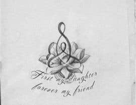 #21 untuk Design a Tattoo for mother/daughter oleh galinah