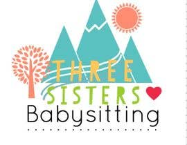 #32 para Design a Logo for Three Sisters Babysitting por Hanarosli1408