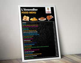 #27 for Design a food menu for a bar af todtodoroff