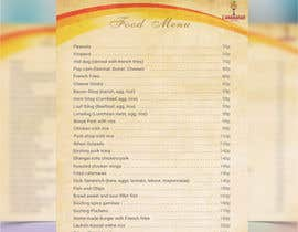 #35 for Design a food menu for a bar by saurav50