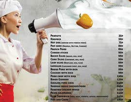#30 for Design a food menu for a bar by ovydyuc