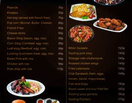 #32 for Design a food menu for a bar by sumantechnosys