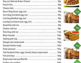 #26 for Design a food menu for a bar by toibantang