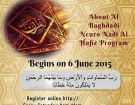 #6 cho Design a Flyer for Al Quran Memorisation Program bởi lenatamimi