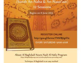#9 cho Design a Flyer for Al Quran Memorisation Program bởi HebaWadud