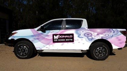 #20 untuk Design our vehicle signage oleh Nihadricci